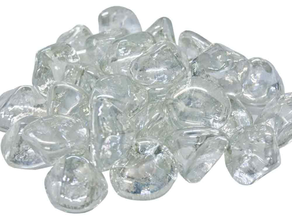 Real Fyre Clear Diamond Nuggets