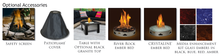 Napoleon Patioflame Firepit Options