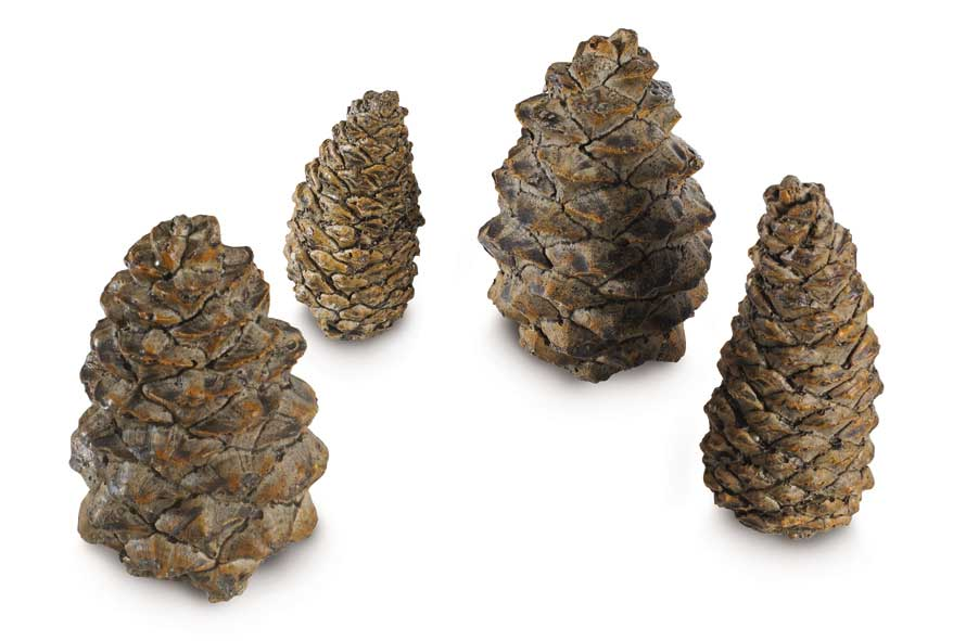 Pine Cones Gas Log Accessory