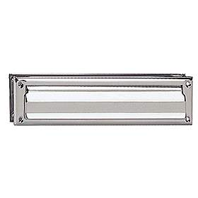 Salsbury Mail Slot in Polished Chrome