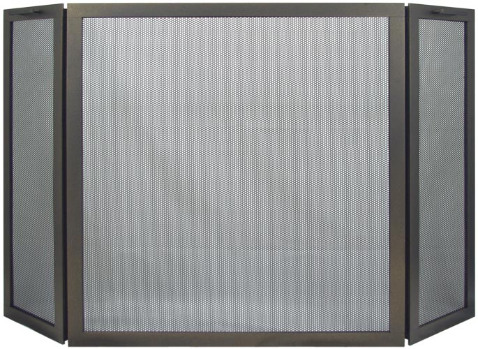 Stoll Traditional Freestanding 3 Panel Rectangle Screen
