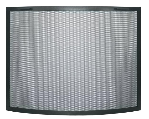 Stoll Fireplace Freestanding Screen Traditional Convex in Charcoal